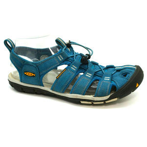 Keen Womens Clearwater CNX Blue Sandals Size 7.5